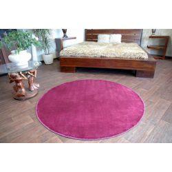 Koberec kruh průměr ULTRA fialový