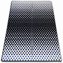 Koberec SKETCH - F762 bílá/ černá
