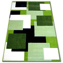 Koberec PILLY H202-8404 - zelený/krém