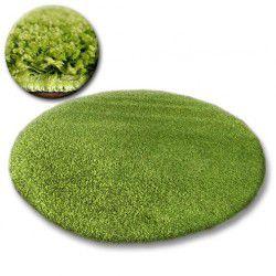 Koberec kruh SHAGGY GALAXY 9000 zelená
