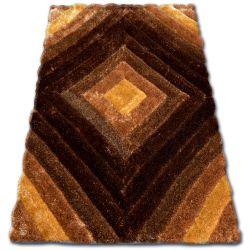 Koberec SHAGGY SOFT - 3D TY134 hnědý