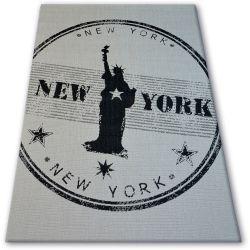 Koberec FLAT 48175/060 SISAL - NEW YORK