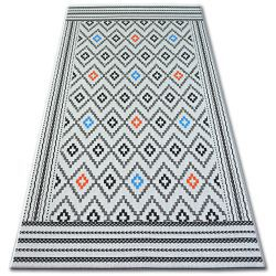 Koberec COLOR 19315/836 SISAL Diamant Bílá