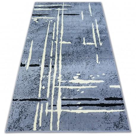 Koberec BCF BASE FUZZY 3909 LINE šedá/černá