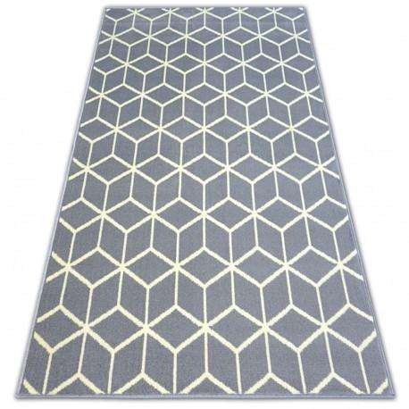 Koberec BCF BASE CUBE 3956 čtverce šedá