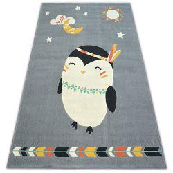 Koberec PASTEL 18401/073 - tučňák Šedá