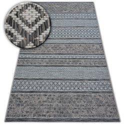 Koberec LOFT 21118 slonová kost/stříbrný/šedá