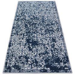 Koberec SENSE 81260 bílý/modrý