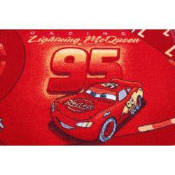 Koberec DĚTSKÝ DISNEY CARS červený
