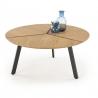 Konferenční stolek LUANA zlato / černý