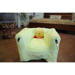 Nafukovací pouf židle pro deti DISNEY KUBUŒ PUCHATEK zelený