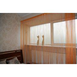 Záclona 250x300 cm DECO PASKI 09 oranžový