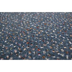 Koberec metráž VELUR TECHNO STAR 390 modrý