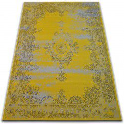 Koberec VINTAGE Růžice 22206/025 žlutá