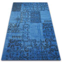 Koberec VINTAGE 22215/073 modrý / šedá