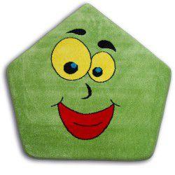 Koberec PAINT pětiúhelník - 1553 zelená