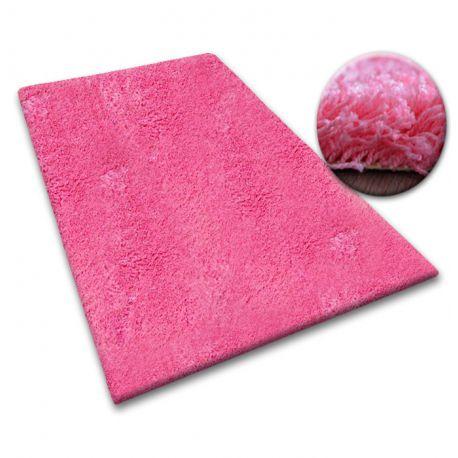Koberec metraz SHAGGY 5cm růžový