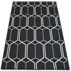 Koberec FLAT 48609/090 SISAL - honeycomb