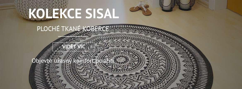 Koberce Sisalové